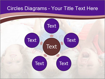 Children Down Bed PowerPoint Template - Slide 78