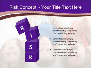 Children Down Bed PowerPoint Template - Slide 81