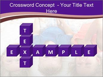 Children Down Bed PowerPoint Template - Slide 82