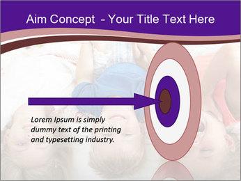 Children Down Bed PowerPoint Template - Slide 83