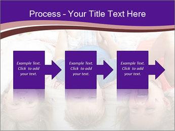 Children Down Bed PowerPoint Template - Slide 88