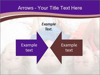 Children Down Bed PowerPoint Template - Slide 90
