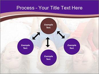 Children Down Bed PowerPoint Template - Slide 91