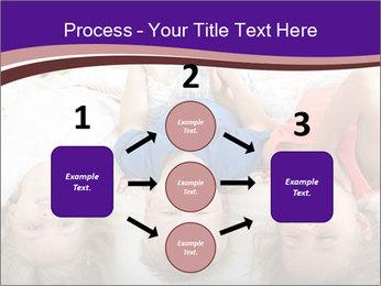 Children Down Bed PowerPoint Template - Slide 92