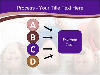Children Down Bed PowerPoint Template - Slide 94