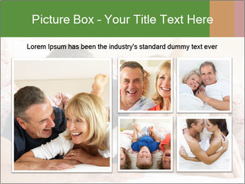 Couple Relaxing Together PowerPoint Template - Slide 19