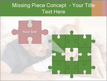 Couple Relaxing Together PowerPoint Template - Slide 45