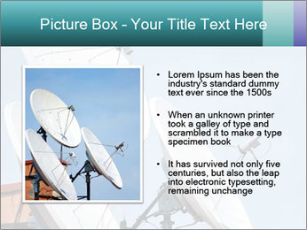 Satellite antennas PowerPoint Templates - Slide 13