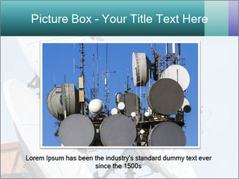 Satellite antennas PowerPoint Templates - Slide 15