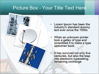 Satellite antennas PowerPoint Templates - Slide 17