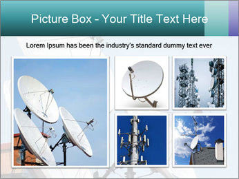Satellite antennas PowerPoint Templates - Slide 19