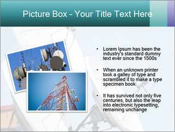 Satellite antennas PowerPoint Templates - Slide 20