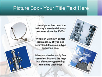 Satellite antennas PowerPoint Templates - Slide 24