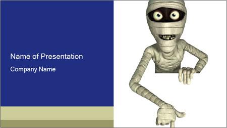 Mummy PowerPoint Template