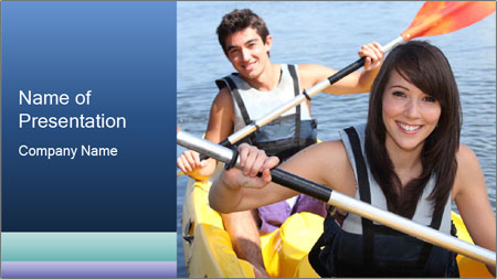 Kayak PowerPoint Template