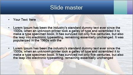 Kayak PowerPoint Template - Slide 2
