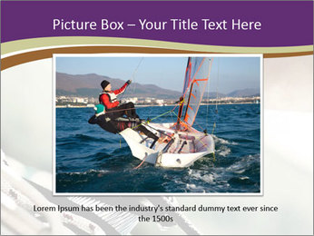 Sailor pulling rope PowerPoint Template - Slide 15