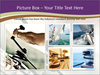 Sailor pulling rope PowerPoint Template - Slide 19