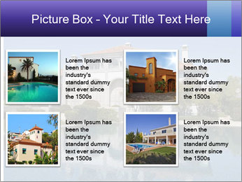 Swimmingpool and blue sky PowerPoint Templates - Slide 14