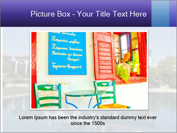 Swimmingpool and blue sky PowerPoint Templates - Slide 16