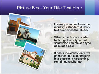 Swimmingpool and blue sky PowerPoint Templates - Slide 17
