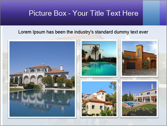 Swimmingpool and blue sky PowerPoint Templates - Slide 19