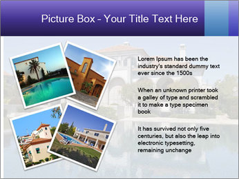 Swimmingpool and blue sky PowerPoint Templates - Slide 23