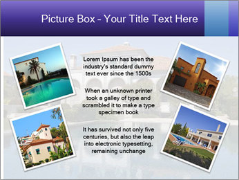 Swimmingpool and blue sky PowerPoint Templates - Slide 24