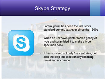 Swimmingpool and blue sky PowerPoint Templates - Slide 8