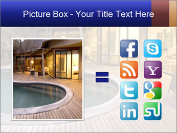 Swimming pool PowerPoint Template - Slide 21
