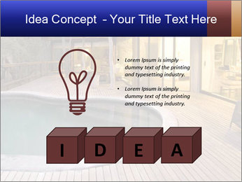 Swimming pool PowerPoint Template - Slide 80