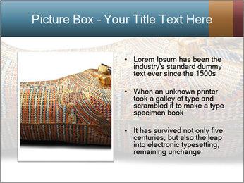 Tutankhamen's wooden sarcophagus PowerPoint Template - Slide 13