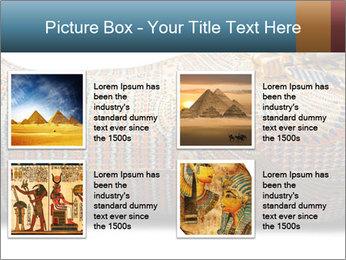 Tutankhamen's wooden sarcophagus PowerPoint Template - Slide 14