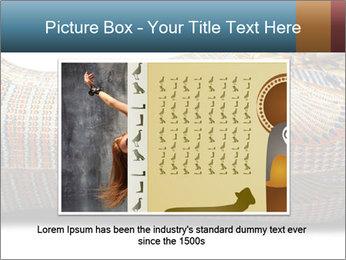 Tutankhamen's wooden sarcophagus PowerPoint Template - Slide 16