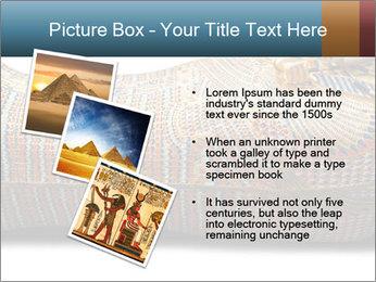 Tutankhamen's wooden sarcophagus PowerPoint Template - Slide 17