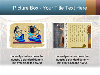 Tutankhamen's wooden sarcophagus PowerPoint Template - Slide 18