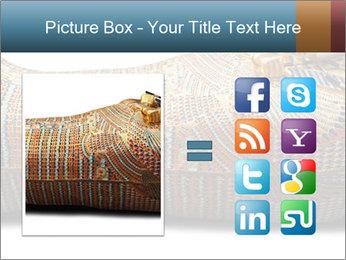 Tutankhamen's wooden sarcophagus PowerPoint Template - Slide 21