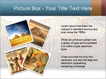 Tutankhamen's wooden sarcophagus PowerPoint Template - Slide 23