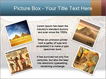 Tutankhamen's wooden sarcophagus PowerPoint Templates - Slide 24