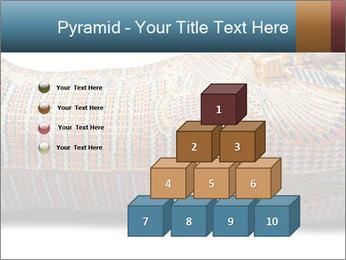 Tutankhamen's wooden sarcophagus PowerPoint Template - Slide 31