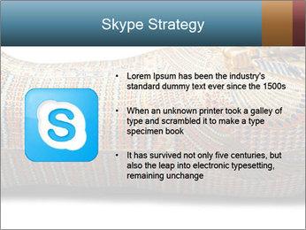 Tutankhamen's wooden sarcophagus PowerPoint Template - Slide 8