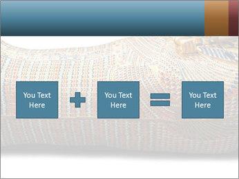 Tutankhamen's wooden sarcophagus PowerPoint Template - Slide 95