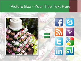 Gourmet cupcakes PowerPoint Templates - Slide 21