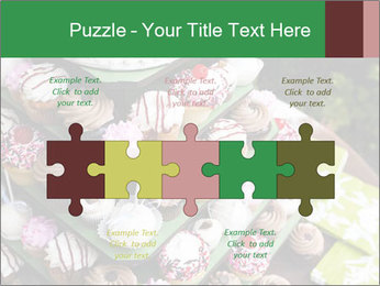 Gourmet cupcakes PowerPoint Templates - Slide 41