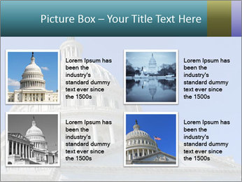 US Capitol Building PowerPoint Template - Slide 14