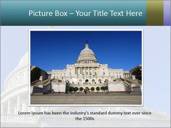 US Capitol Building PowerPoint Template - Slide 15