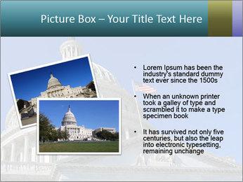 US Capitol Building PowerPoint Template - Slide 20