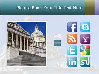 US Capitol Building PowerPoint Template - Slide 21