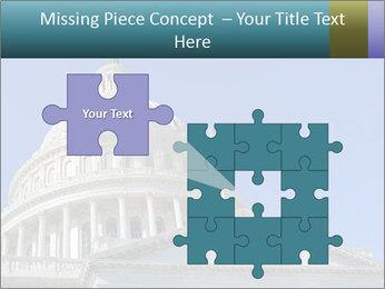 US Capitol Building PowerPoint Template - Slide 45