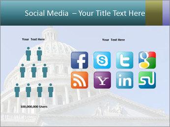 US Capitol Building PowerPoint Template - Slide 5